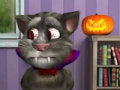 Talking Tom. Halloween